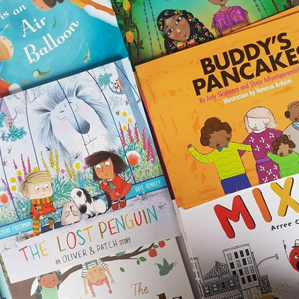 Diverse and inclusive book subscription includes Buddy's Pancakes!