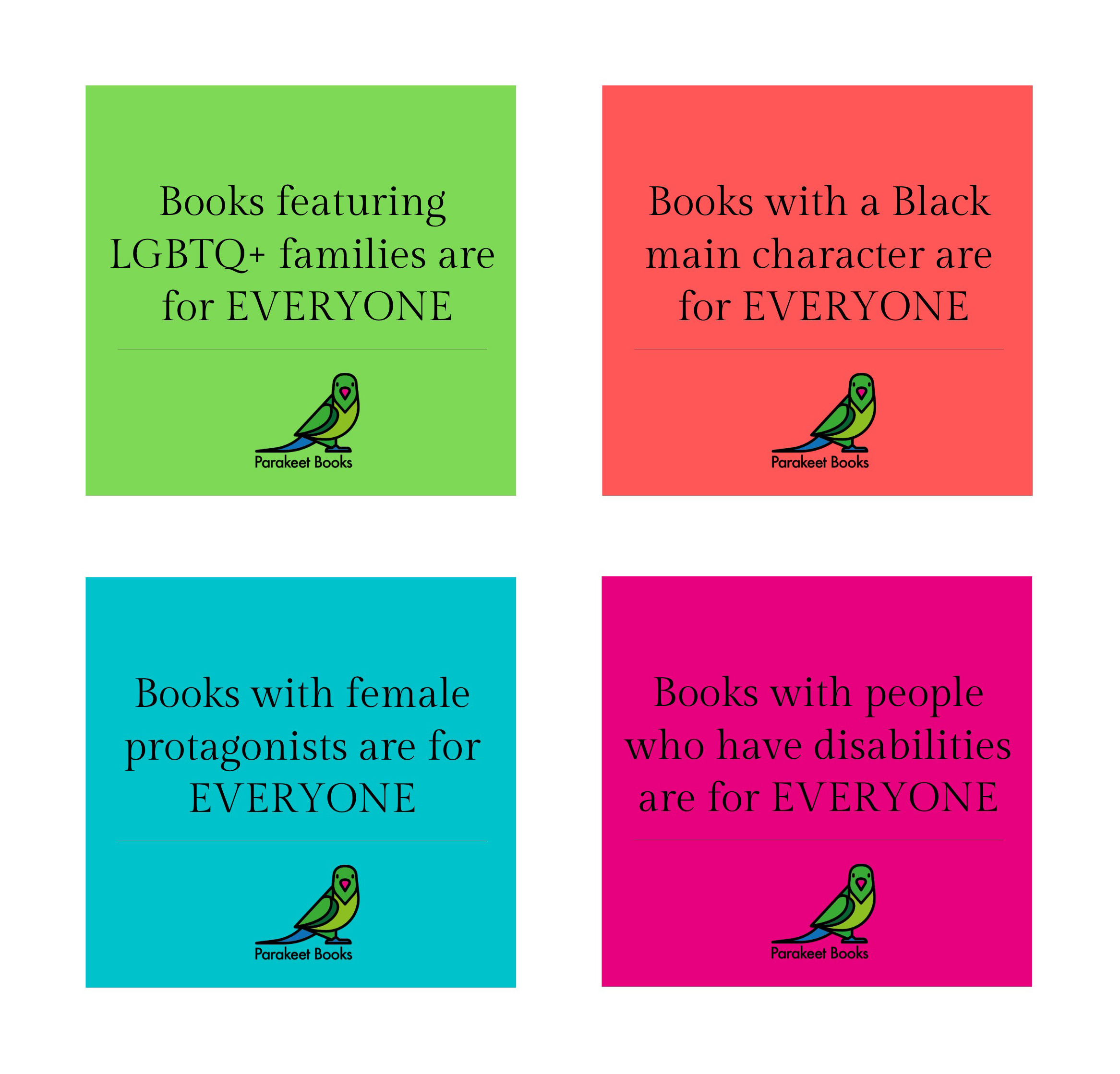 Diverse books are for everyone.